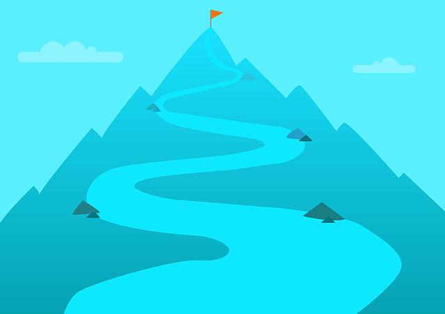 登りの山道