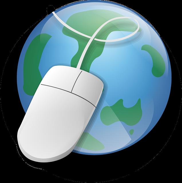 地球とマウス