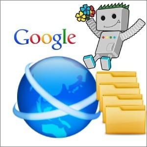 Googleとフォルダとロボット